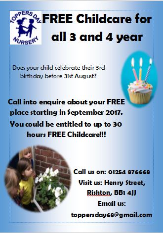 free childcare poster